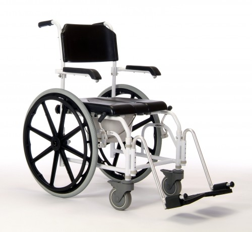 Sunrise Medical Coopers Self Propelled Shower/Commode Chair  sc 1 st  Better Mobility & Sunrise Medical Coopers Self Propelled Shower/Commode Chair - Better ...