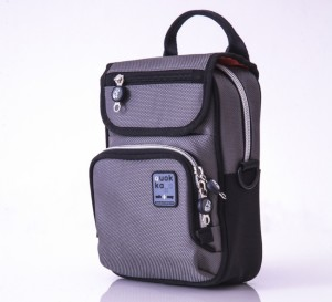 Grey Vertical Bag