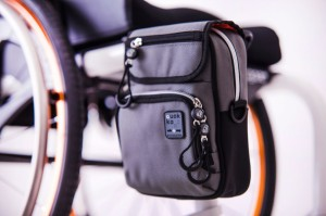 Grey Vertical Bag with Surface Adaptor