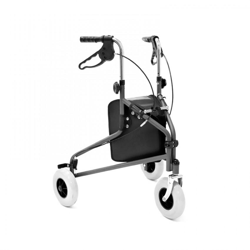 Three Wheel Walker with Bag