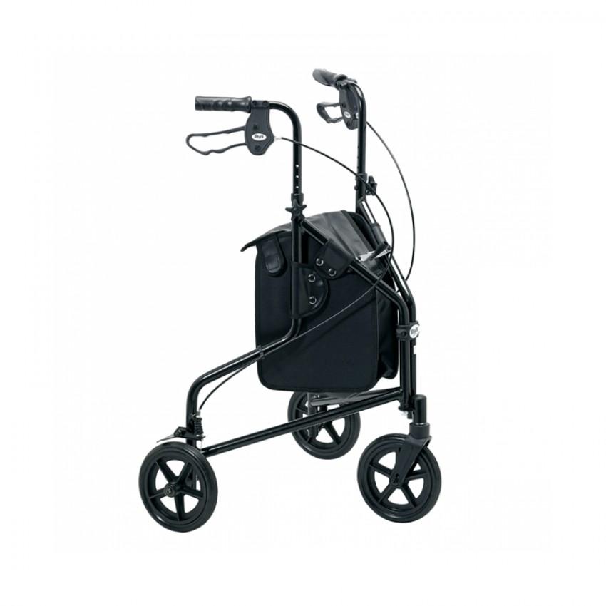 Days Tri-Wheel Aluminium Walker