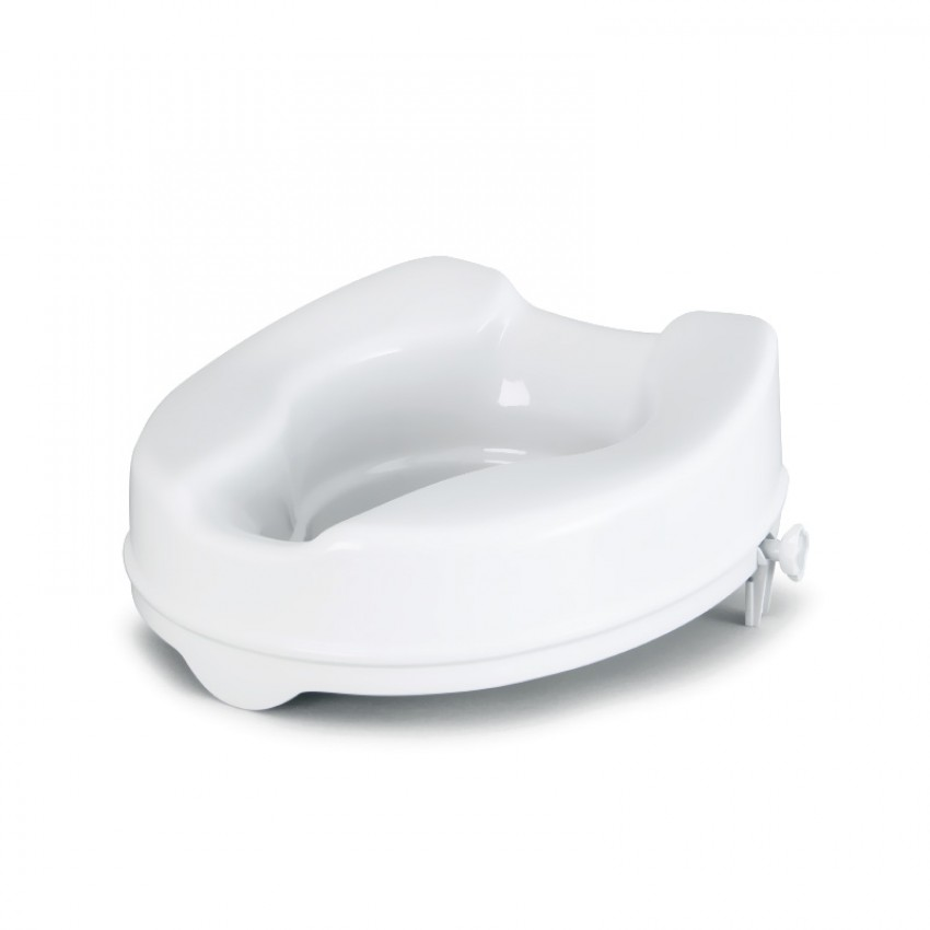 Savannah Raised Toilet Seat with Lid Option