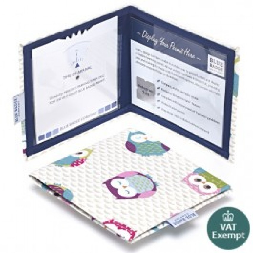Twit-Twoo Blue Badge Wallet