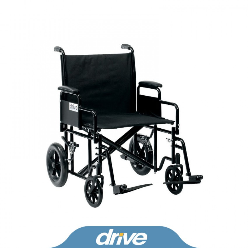 Drive Medical Bariatric Steel Transit
