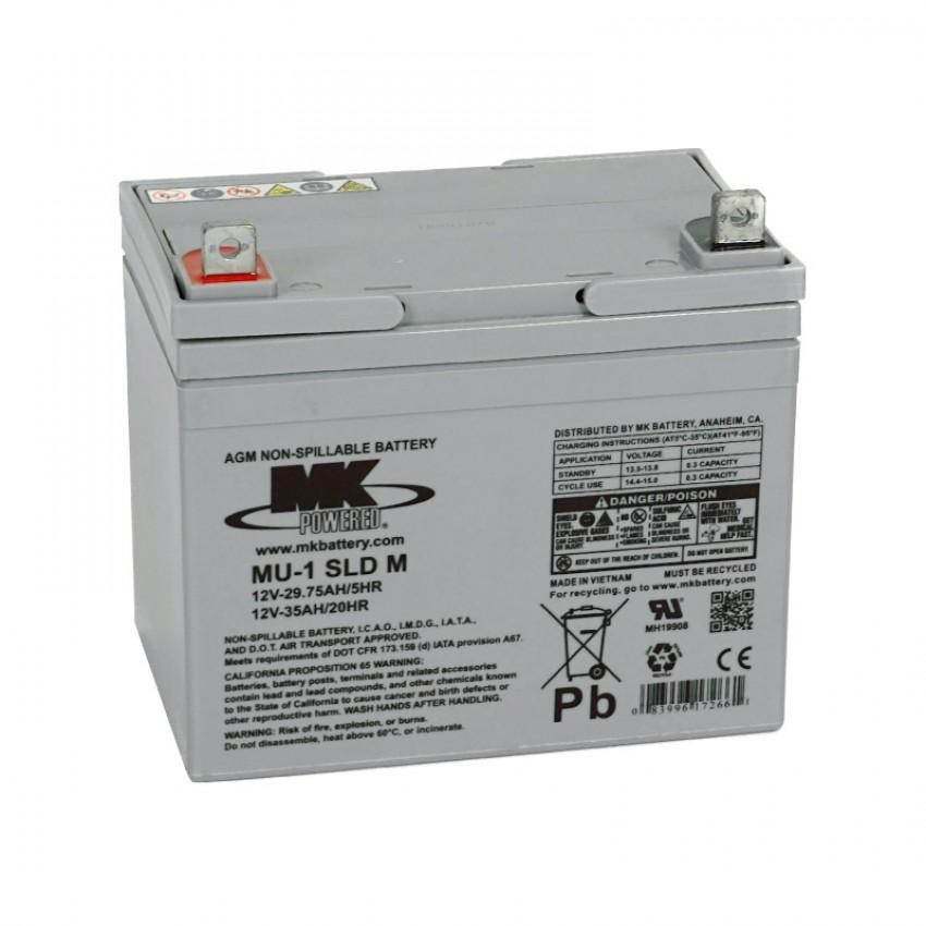 MK Batteries Sealed Lead Acid Batteries (Pair) (30/31/33/35 Ah)
