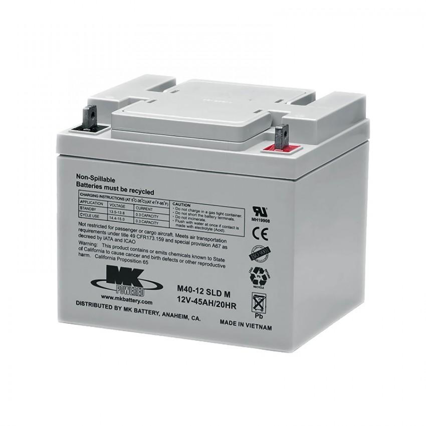 MK Batteries Sealed Lead Acid Batteries (Pair) (38/40/45 Ah)
