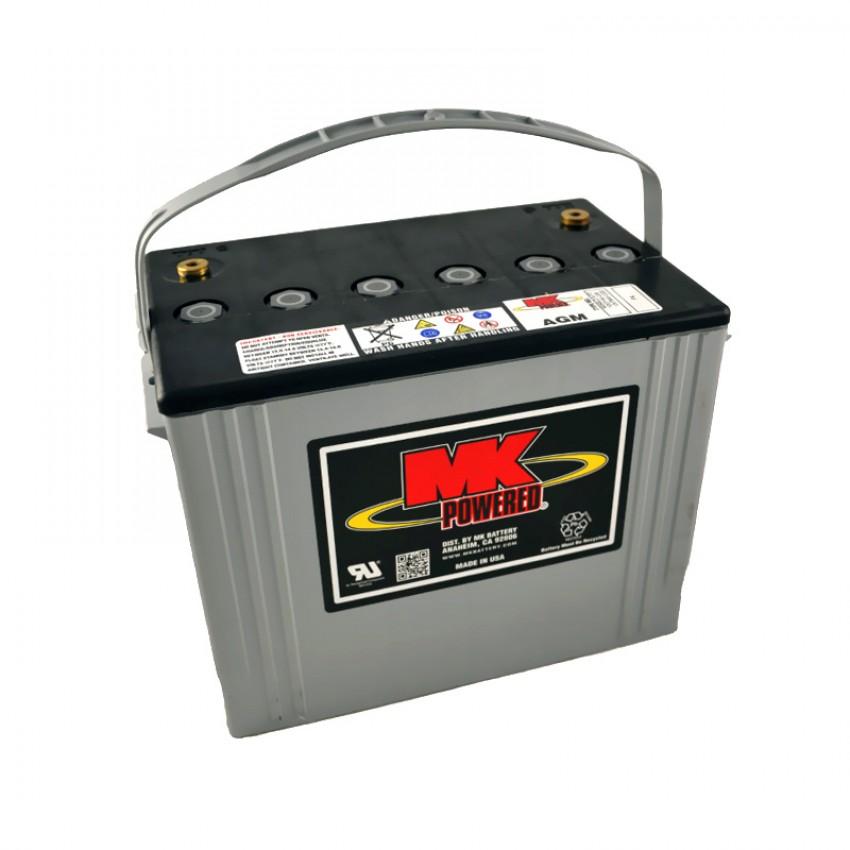 MK Batteries Sealed Lead Acid Batteries (Pair) (79Ah)
