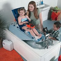Mangar International Surfer Bather Bath Lift with leg lift *