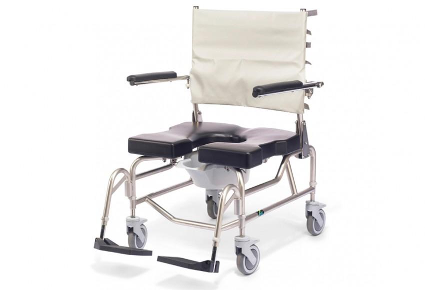 Raz AP600 Heavy Duty Rehab Shower Commode Chair