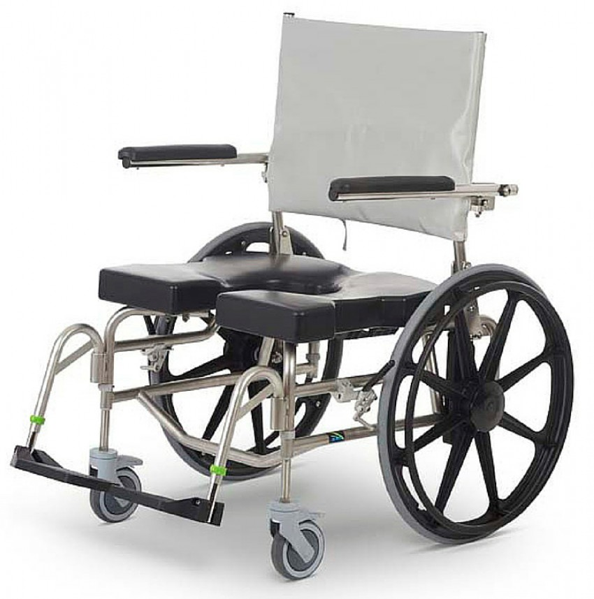 RAZ SP 600 Rehab Heavy Duty Shower Commode Chair - Better Mobility ...