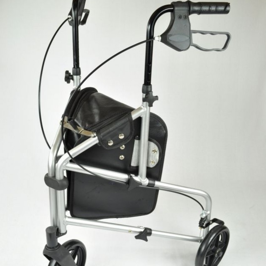 Able 2 Compact Aluminium Tri-Wheel Walker