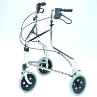 Economy Steel Tri-wheel Walker with Loop Brakes