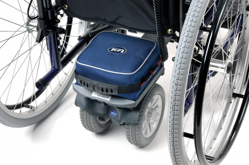 TGA Wheelchair Power Pack Twin Wheel Duo HD