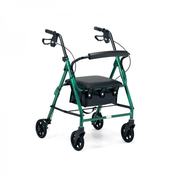 4 Wheeled Walkers / Rollators