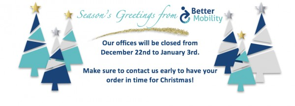 Christmas Hours and Orders